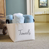 Towels Canvas Storage Bin - A Southern Bucket - 2