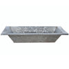 Vintage Zinc Galvanized Metal Trough