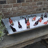 Personalized Vintage Beverage Trough