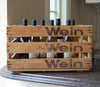 "Personalized Vintage limited edition ""Wein"" Distressed"
