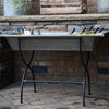 Vintage Galvanized Zinc Wine Trough