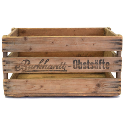 Personalized Vintage Crate for wine