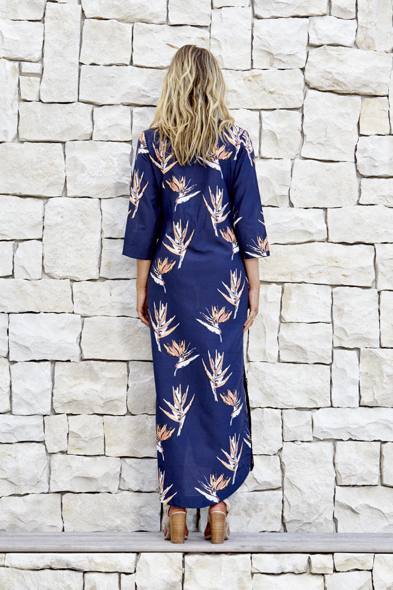 The Barbados kaftan