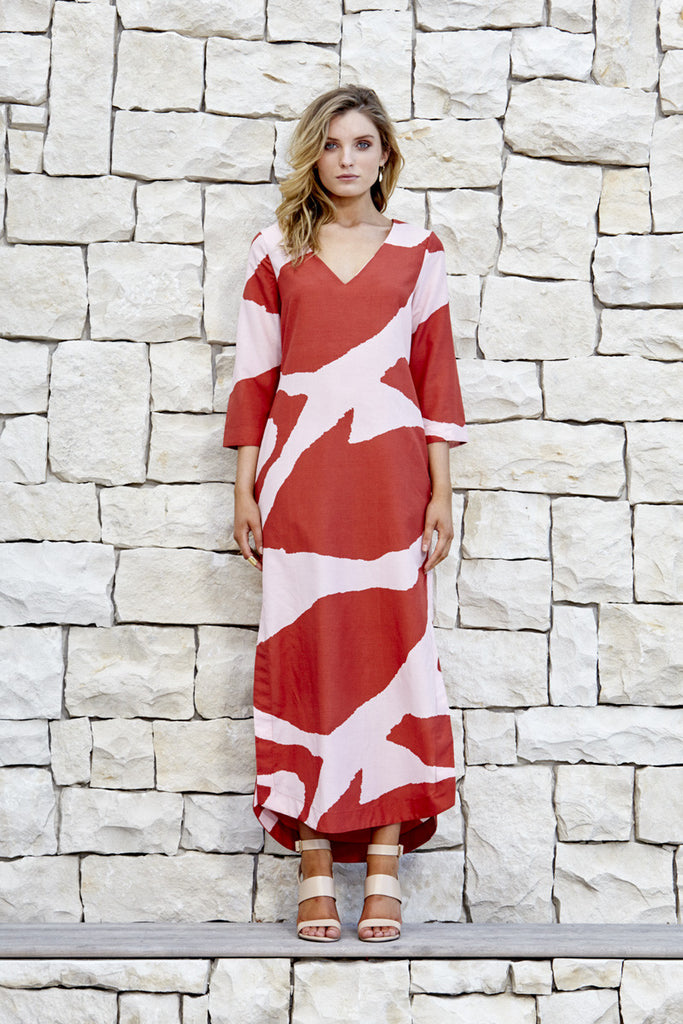 The Palm Springs kaftan