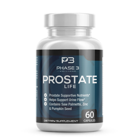 Prostate Life Prostate Supplement 3 Bottle Bundle