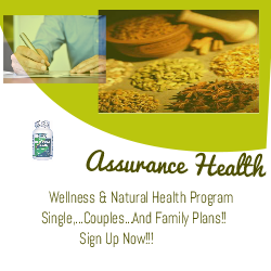 Assurance Program Registration/Signup Page  For Family