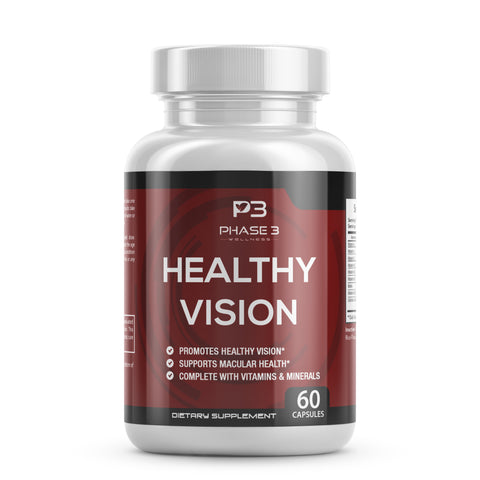 Healthy Vision Eye Supplement (Limited Time 3 Bottle Pack)