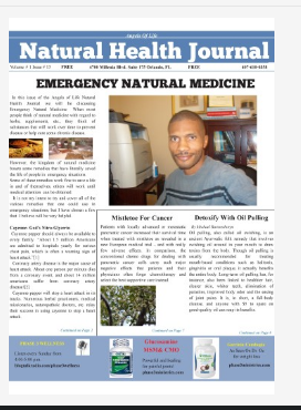 Natural Health Journal Digital Version  Scroll Down To Download