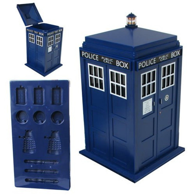 TARDIS Ice Bucket and Ice Cube Tray