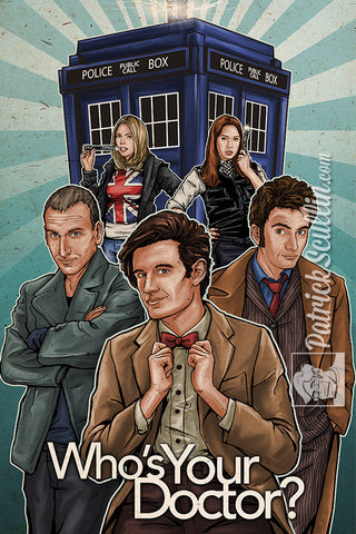 """Who's Your Doctor?"" Art Print"