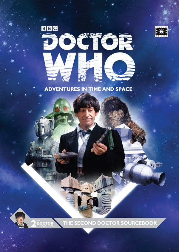 Doctor Who RPG: The Second Doctor Sourcebook