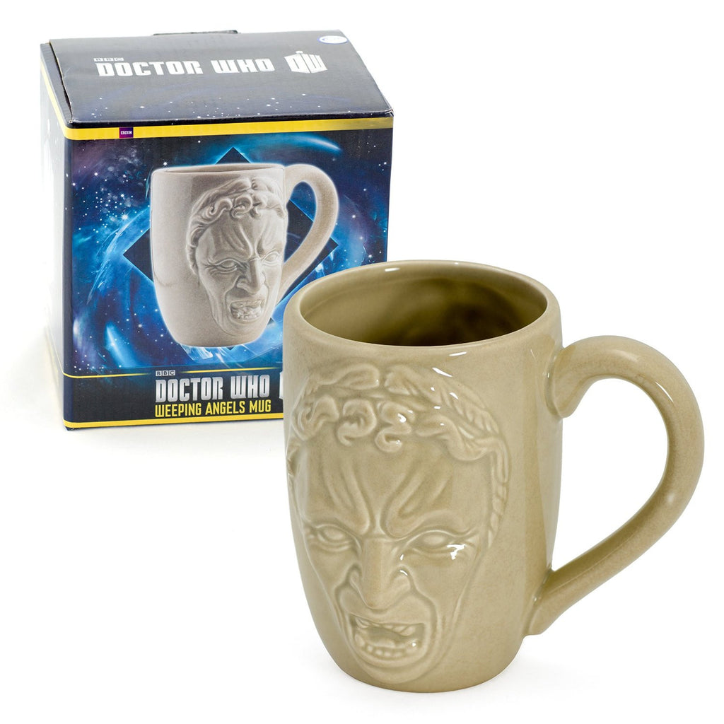 Weeping angel mug