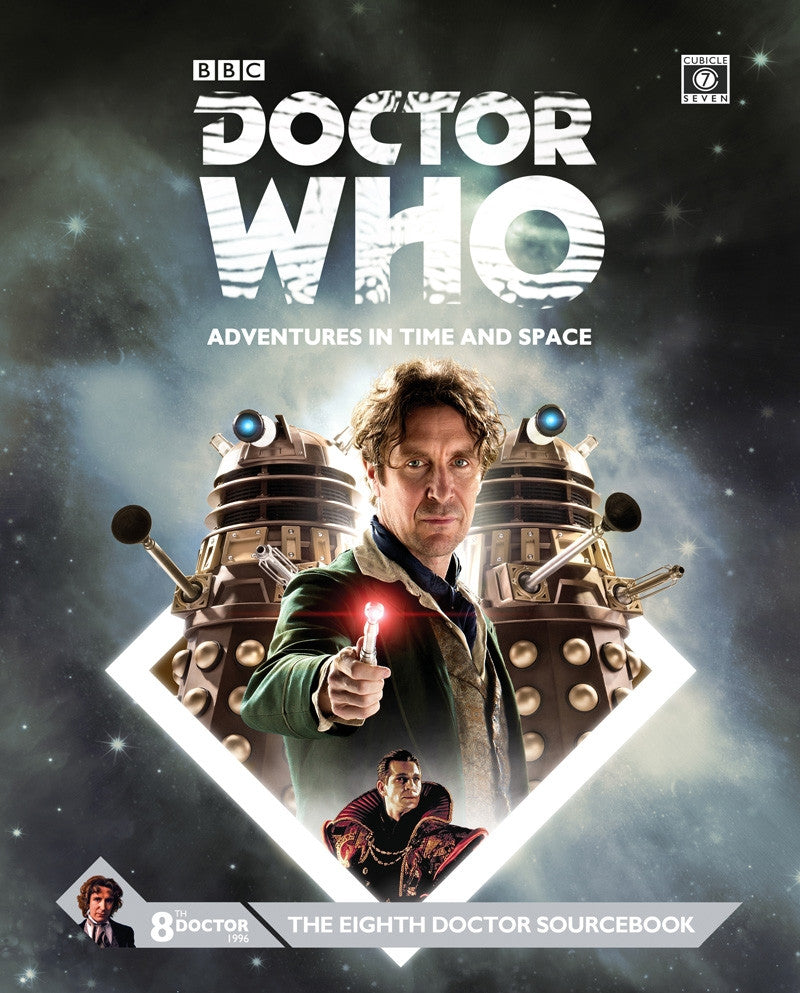 Doctor Who RPG: The Eighth Doctor Sourcebook