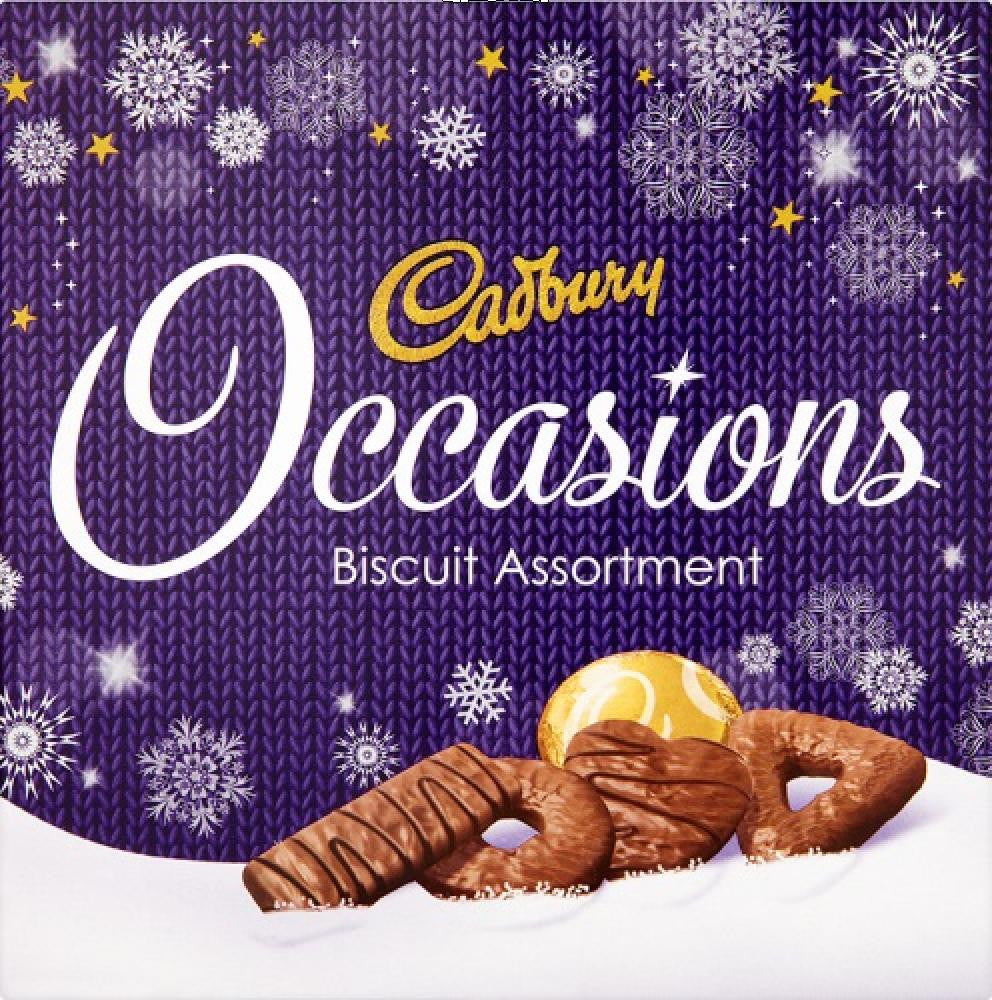Cadbury Occasions Asst Biscuits Box