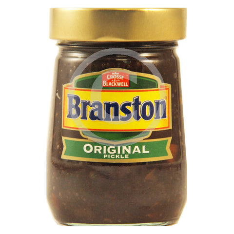 Branston pickle jar