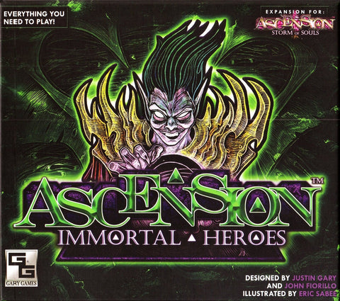 Ascension Immortal Heroes Expansion