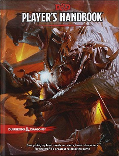 Dungeons and Dragons Player's Handbook: 5th Edition