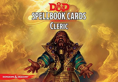Dungeons and Dragons Spellbook Cards