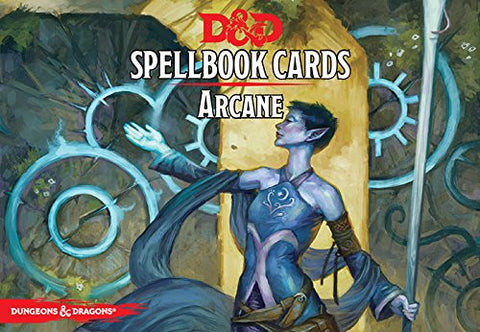 Dungeons and Dragons RPG: Arcane Spell Deck