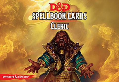 Dungeons and Dragons RPG: Cleric Spell Deck