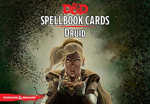 Dungeons and Dragons RPG: Druid Spell Deck