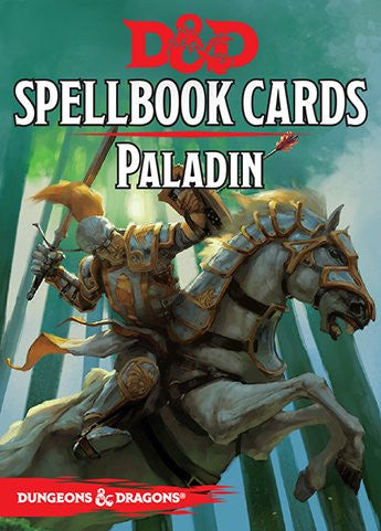 Dungeons and Dragons RPG: Paladin Spell Deck