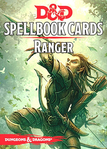 Dungeons and Dragons RPG: Ranger Spell Deck