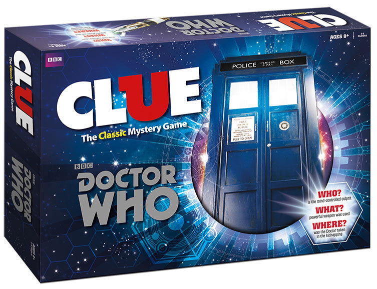 Doctor Who Clue Game