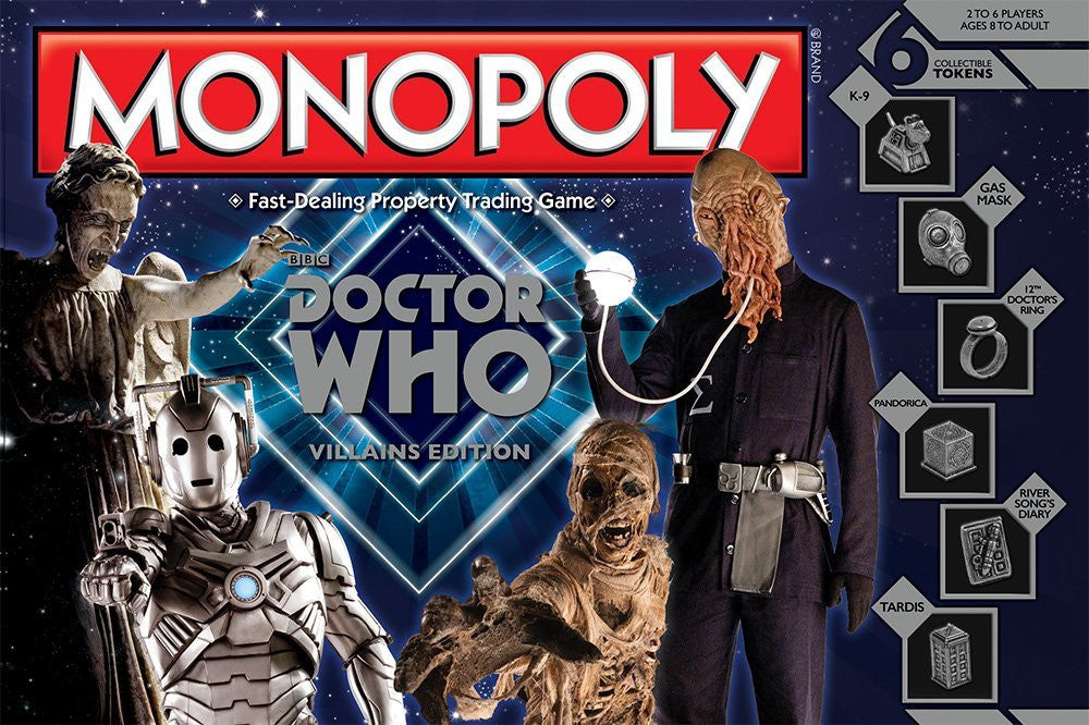 Doctor Who Monopoly: Villain's Edition