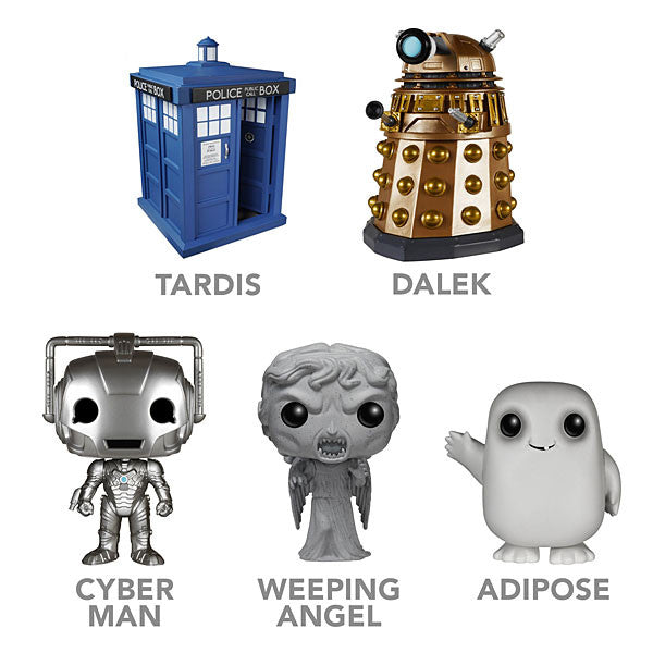 Doctor Who Pop Funko Figures