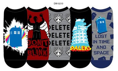 Doctor Who Ladies no-show socks