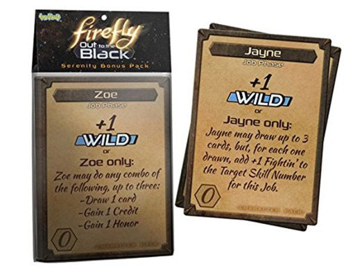 Firefly Out to the Black Bonus Packs