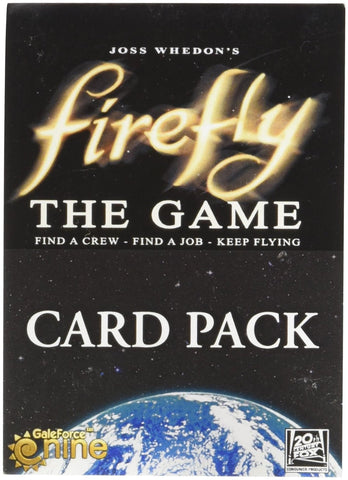 Firefly the Game Card Pack
