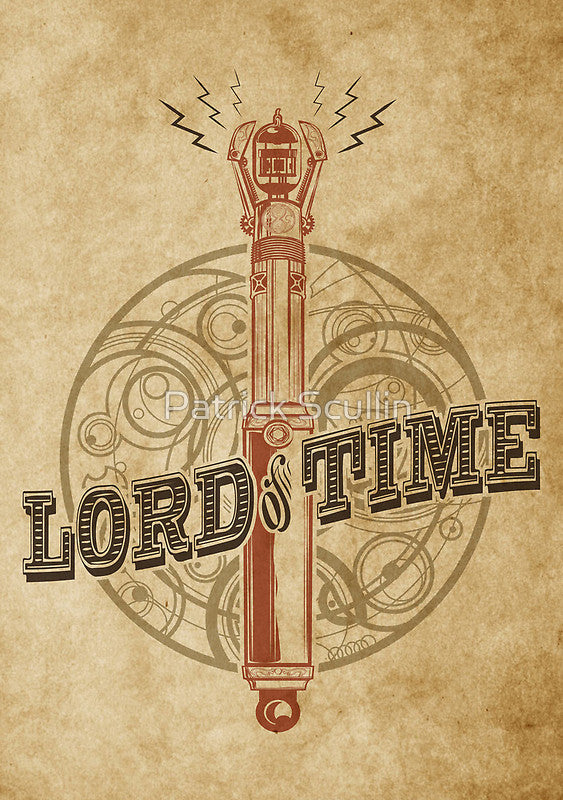 """Lord of Time"" art print"