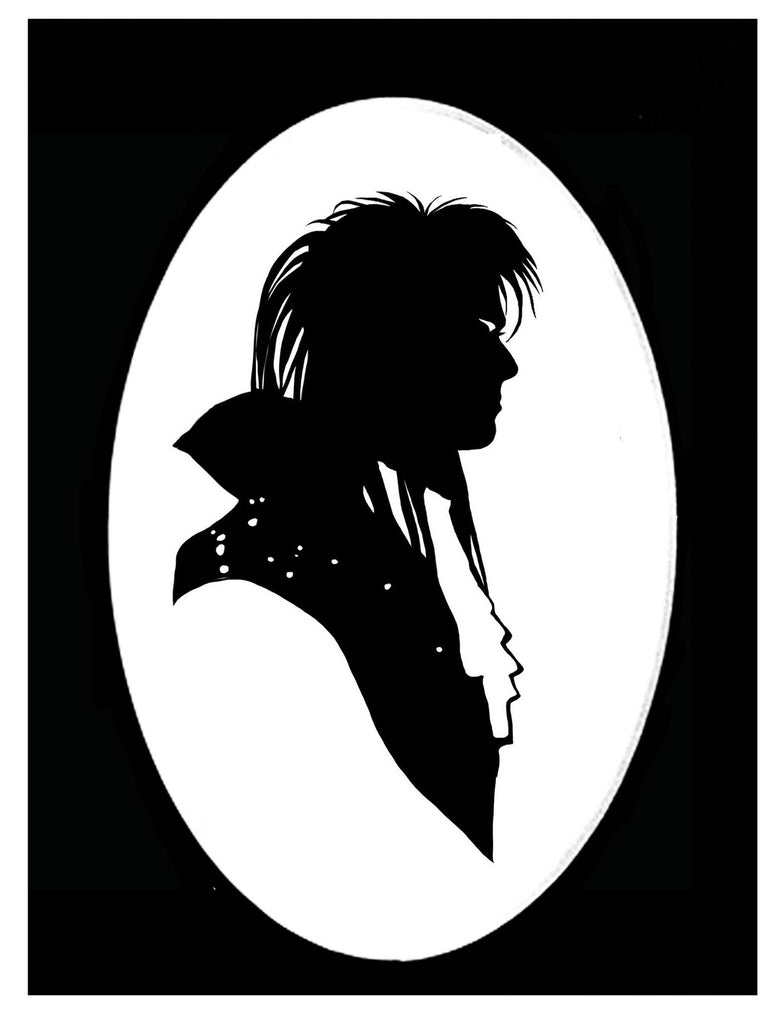 The Goblin King Silhouette