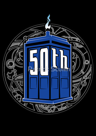 """Happy 50th"" Doctor Who"