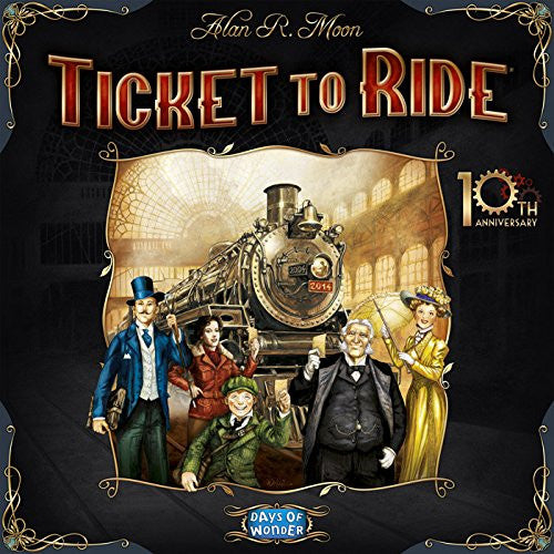 Ticket To Ride 10th Anniversary Edition Limited