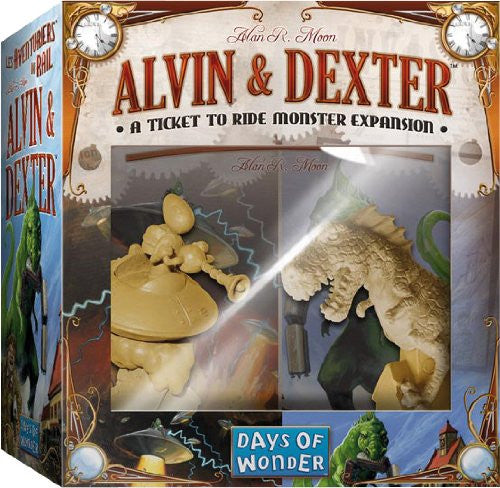 Ticket to Ride: Alvin and Dexter Monster Expansion