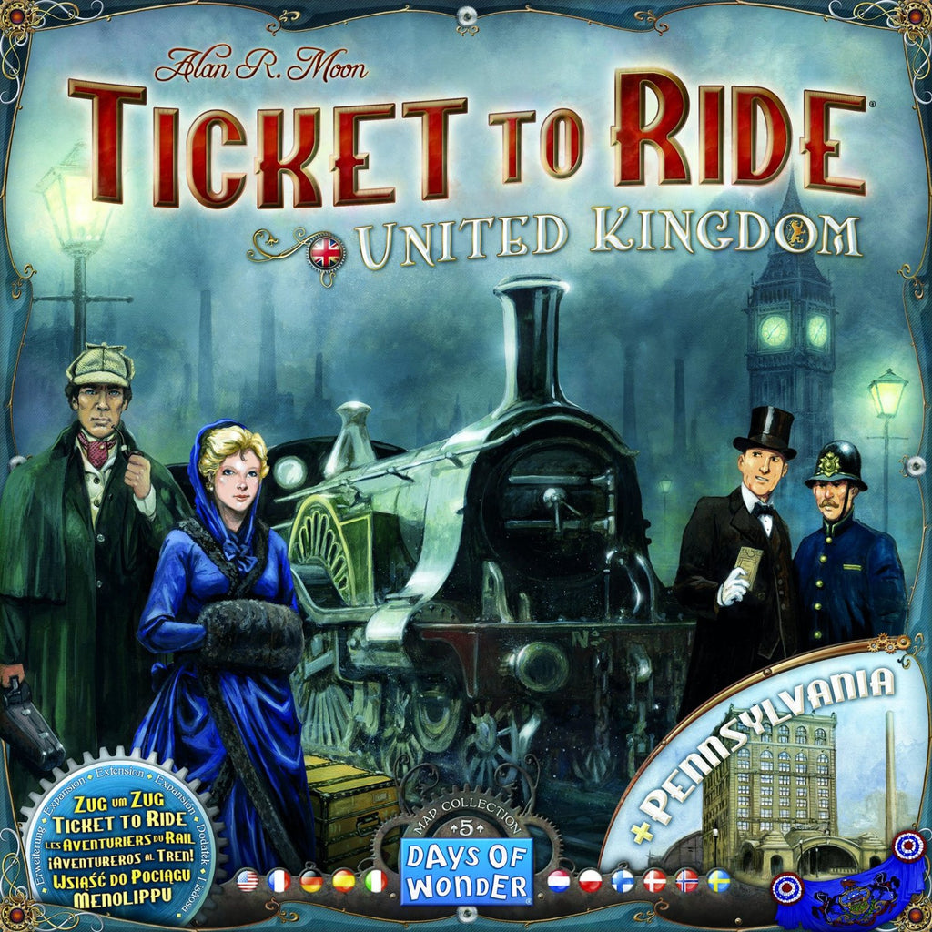 Ticket to Ride: Map Collection Volume 5 United Kingdom