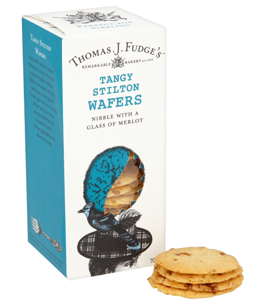 Tangy Stilton Wafers