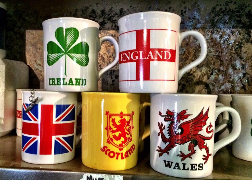United Kingdom Mugs
