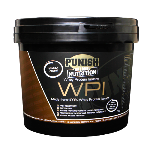 Punish Whey Protein Isolate WPI 3kg