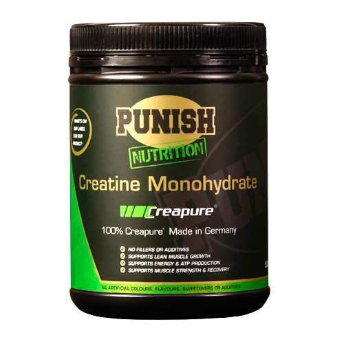 Punish Creatine Monohydrate (Creapure) 1kg