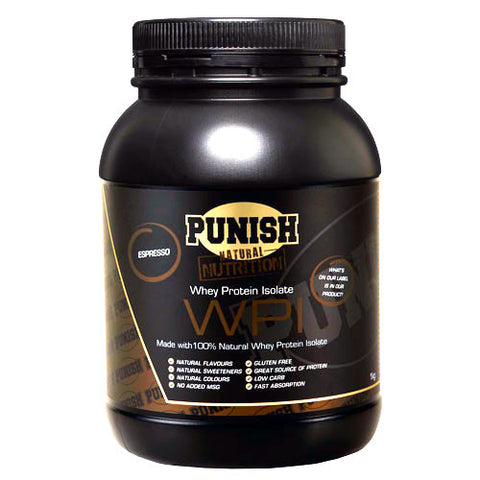 Punish Whey Protein Isolate WPI 1kg