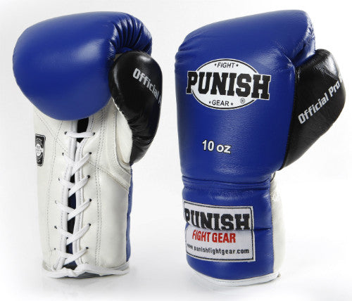 Punish 16oz Official Pro Boxing Glove - Lace