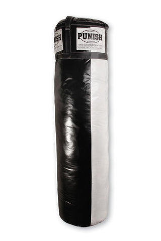 Punching Bag (Synthetic) - 110cm x 40cm Round (Unfilled)