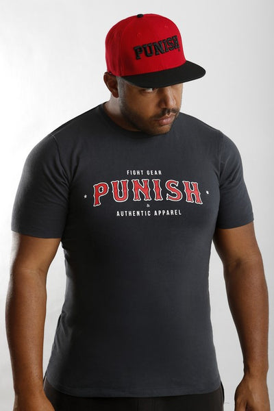Punish Authentic Tee - Red