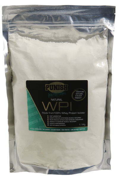 Punish Natural Whey Protein Isolate - WPI 1.1kg