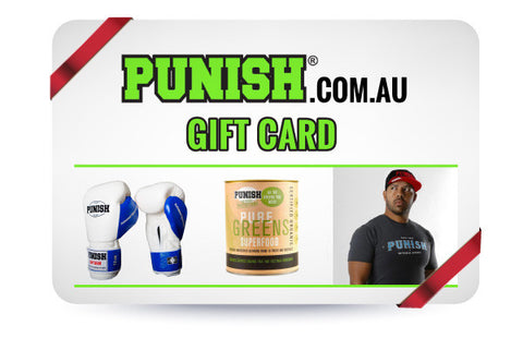 PUNISH GIFT CARD