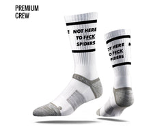 NHTFS Crew Cut Socks - White